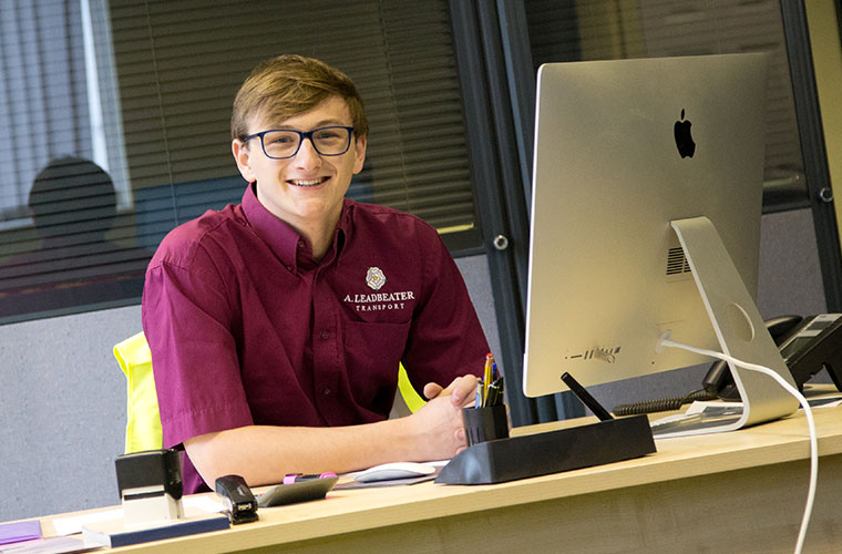 Alex Leadbeater - Transport Apprentice